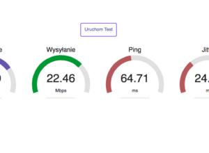 jak sprawdzić prędkość internetu