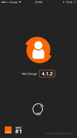 logowanie do aplikacji mój orange