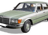 mercedes benz 280s naklejka rejestracyjna