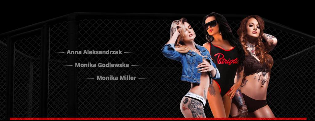 Gala Fame MMA ring grils