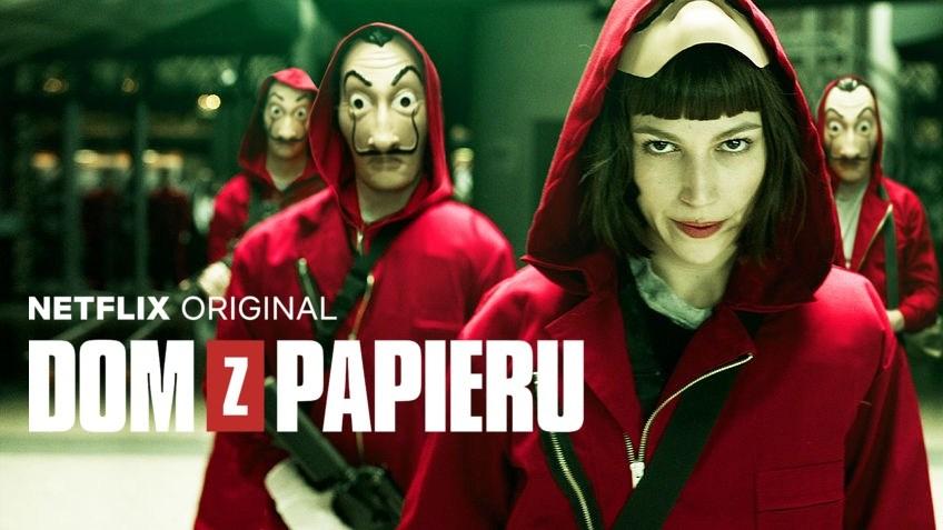 hiszpański serial Dom z Papieru