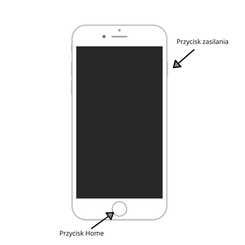 Zrzut ekranu na telefonie Iphone