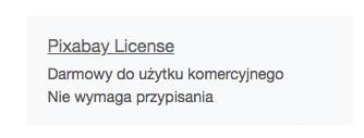 licencja pixabay