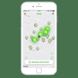Aplikacja Lime na iOS