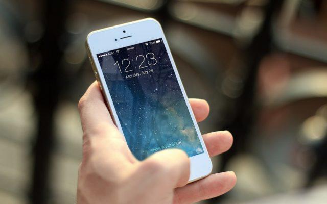 Blokada ekranu iPhone